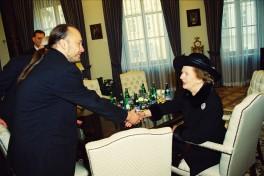 Ladislav Jakl & Margaret Thatcher